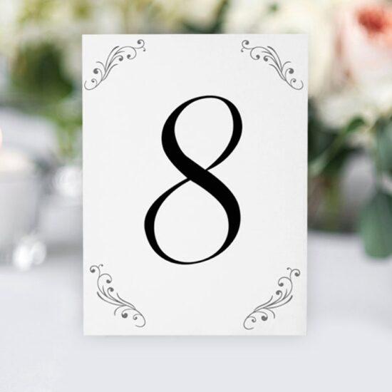 Номер за маса 6