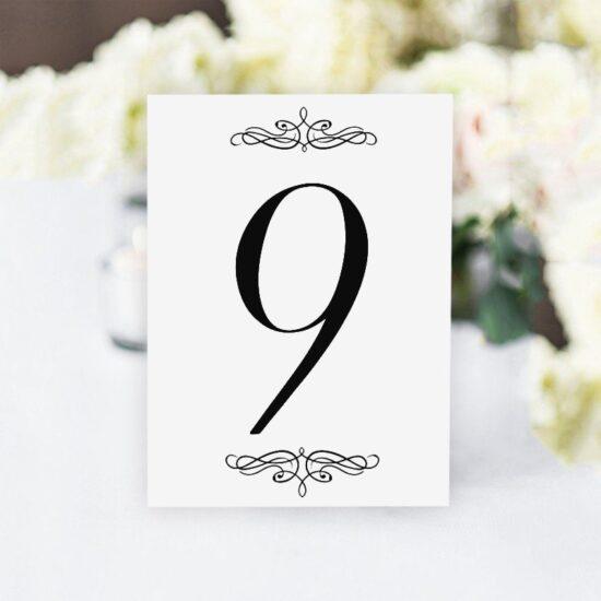 Номер за маса 9